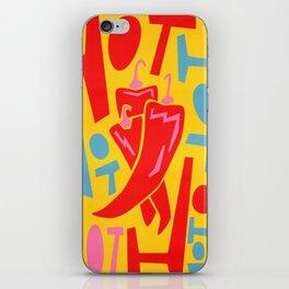 Hot Chilli iPhone Skin
