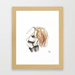 Femme 26 Framed Art Print