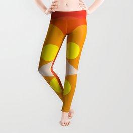 Princess Blosom  - Colorful Abstract Art Leggings