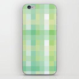 Pixelate Mint iPhone Skin