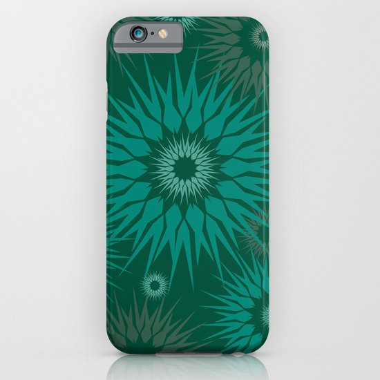Dark Spiky Burst iPhone & iPod Case