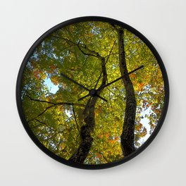 Double Limbs of Nature Wall Clock