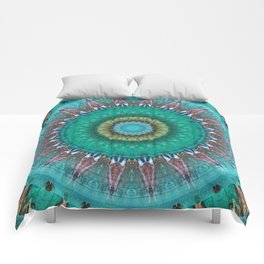 Mandala source of life Comforters