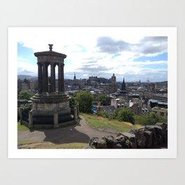Calton Hill Edinburgh Art Print