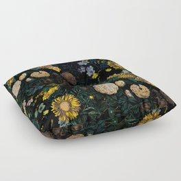 EXOTIC GARDEN - NIGHT II Floor Pillow