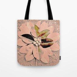Pastel Pink Flower Tote Bag