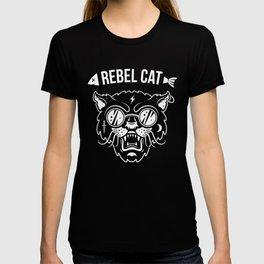 Rebel cat T-shirt