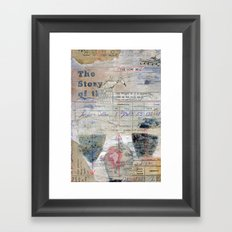 The Story of the Cow Bell Framed Art Print