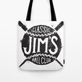 Classic Jim's Ball Club - Tshirt Tote Bag