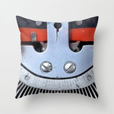 Vintage typewriter 2 Throw Pillow