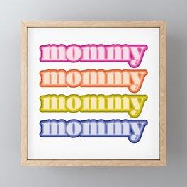 mommyallday Framed Mini Art Print