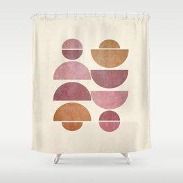 Geometrica 11 Shower Curtain