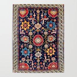 Shirvan Caucasian Afshan Rug Poster