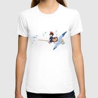 kiki T-shirts featuring Kiki by 8-bit Ghibli