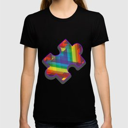 Autism Puzzle - Autistic Warrior Support Unique Jigsaw Gift T-shirt