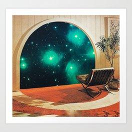 'Future Interiors' Art Print