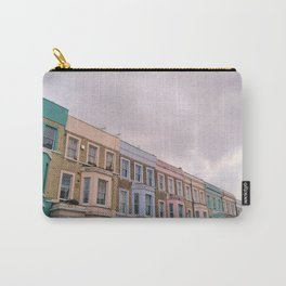 Colourful houses in Notting Hill, London Carry-All Pouch