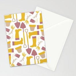 Garden Pattern Stationery Cards