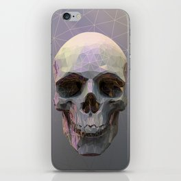 Skull Colorful Wires 1 iPhone Skin
