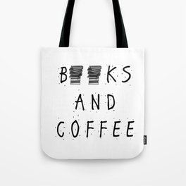 Books and Coffee! Tote Bag