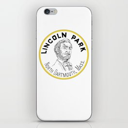 Lincoln Park Round Logo iPhone Skin