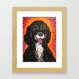 Moe Framed Art Print