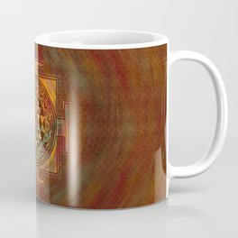 Colorful Sri Yantra  / Sri Chakra Coffee Mug
