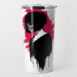Red Anomie Travel Mug