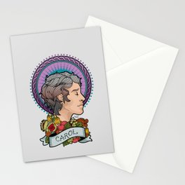 Queen Carol Stationery Cards