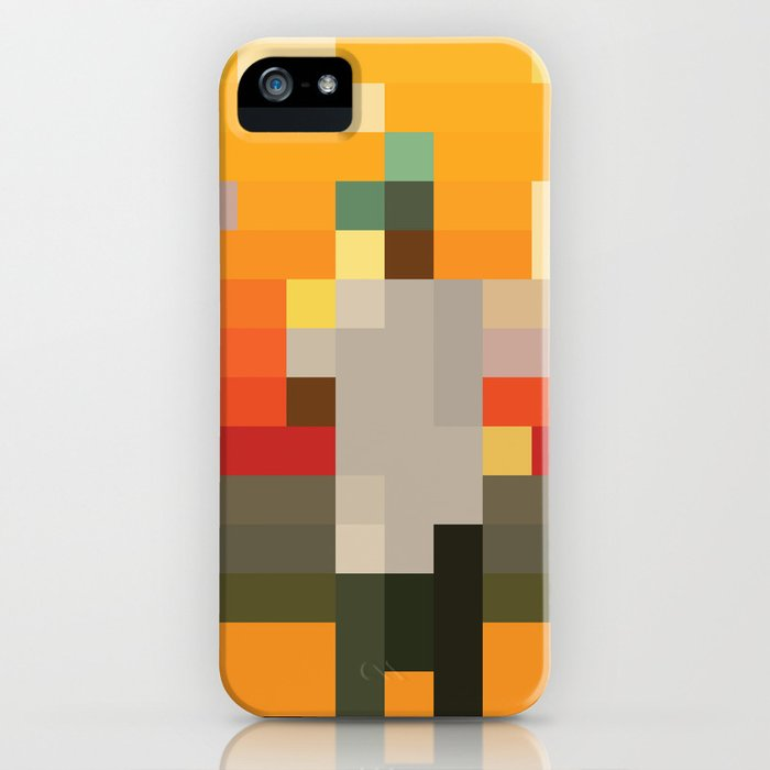 scum pixel flower boy iphone case