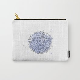 delicate flowers, Paradise flowers, wallpaper , wall decor Carry-All Pouch