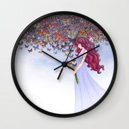aflutter Wall Clock