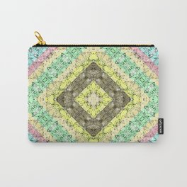 Colorful abstract pattern, patchwork, multicolored, plaid 2 Carry-All Pouch