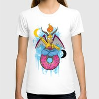 baphomet T-shirts featuring Homer The Baphomet by Conversa entre Adeptus