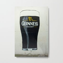 How Many Glasses of Beer on the Wall Metal Print