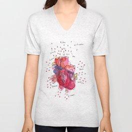 Heartwork Unisex V-Neck