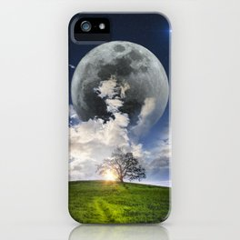 Day & Night iPhone Case