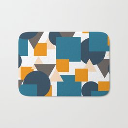Geometric Mixture Bath Mat