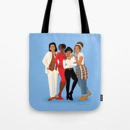 Living Single / Khadijah, Max, Regine & Synclaire Tote Bag