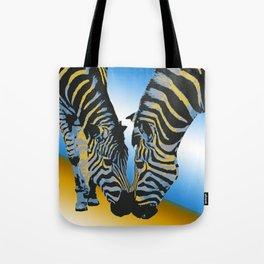 Zebras02 Tote Bag