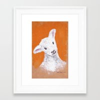 sheep Framed Art Prints featuring Sheep by KeithKarloff