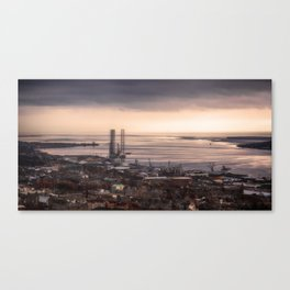 The Tay Estuary Canvas Print