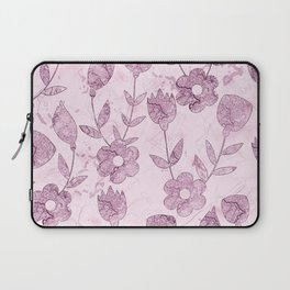 Watercolor Floral VV Laptop Sleeve