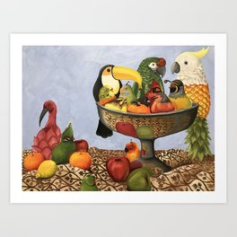 Bird Still Life Art Print
