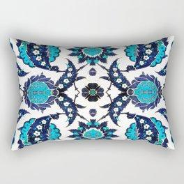 Floral Fabric Vintage Gift Pattern #6 Rectangular Pillow