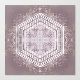 Hexagon Forrest Canvas Print