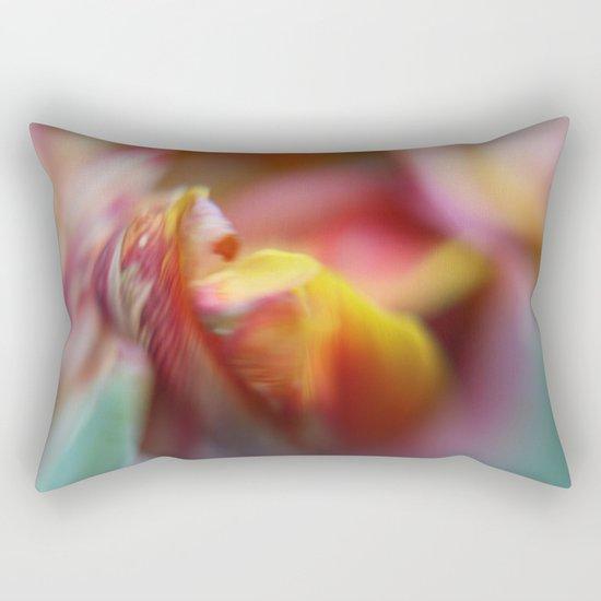 Tulip Bokeh Rectangular Pillow