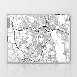 Minimal City Maps - Map Of Providence, Rhode Island, United States Laptop & iPad Skin