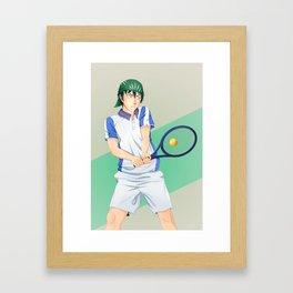 Kaidoh Kaoru Volley Framed Art Print