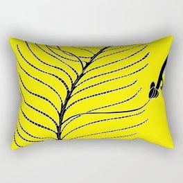 Dream Tree (also known as Narrow Leaf Fuschia or Native Fuchsia - Eremophila alternifolia Rectangular Pillow